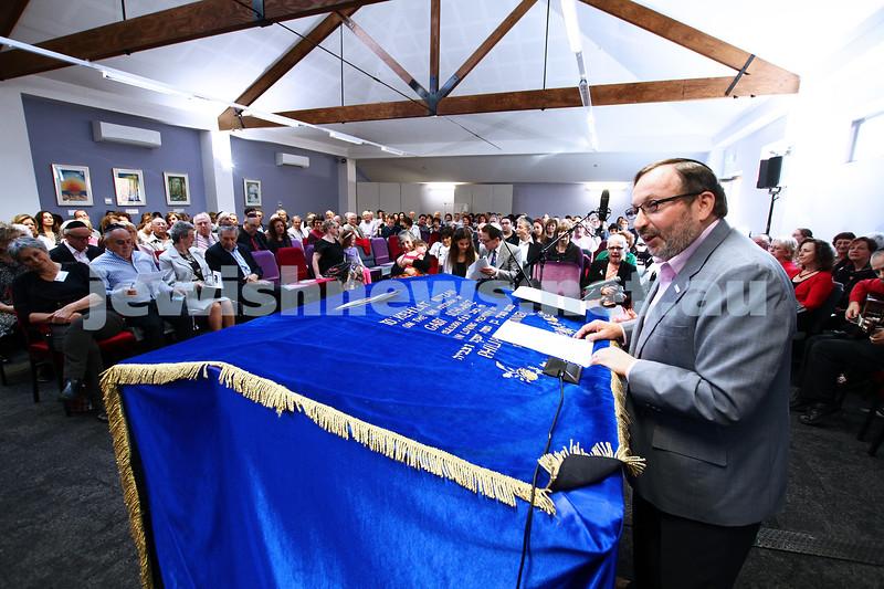 1-9-13. Kehilat Nitzan Concervative (Masorti). New synagogue dedication. Photo: Peter Haskin