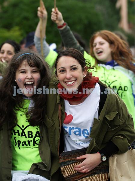 22-5-11. Chabad Youth Lag B'omer Parade 2011. Photo: Peter Haskin