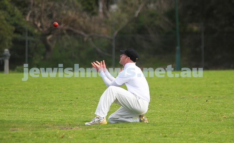 9-10-11. Maccabi Cricket v RMIT. Photo: Peter Haskin