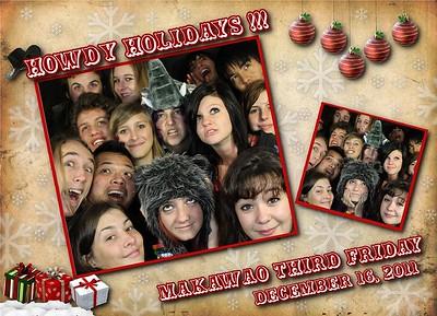 Makawao 3rd Friday Dec 2011