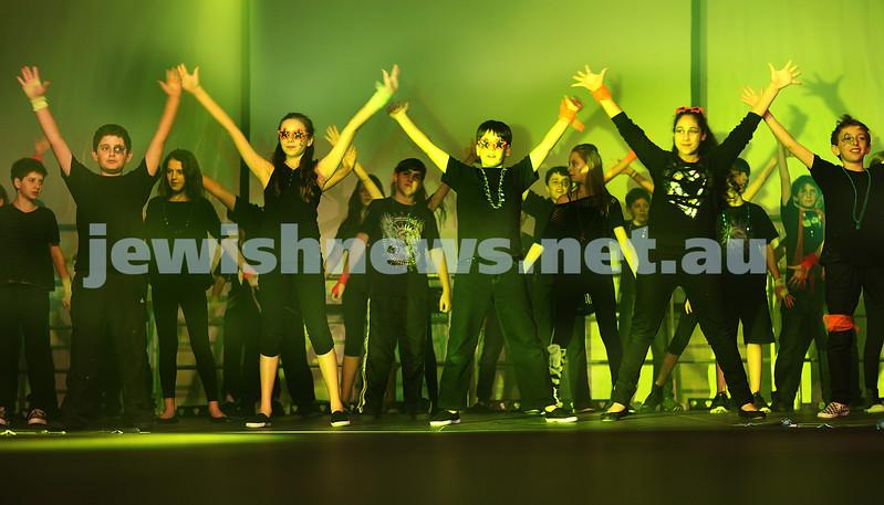November 2011. Masada College, Sydney. Fashion Show. Photo: Ingrid Shakenovsky