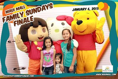 Maui Mall Family Sundays Finale 2013