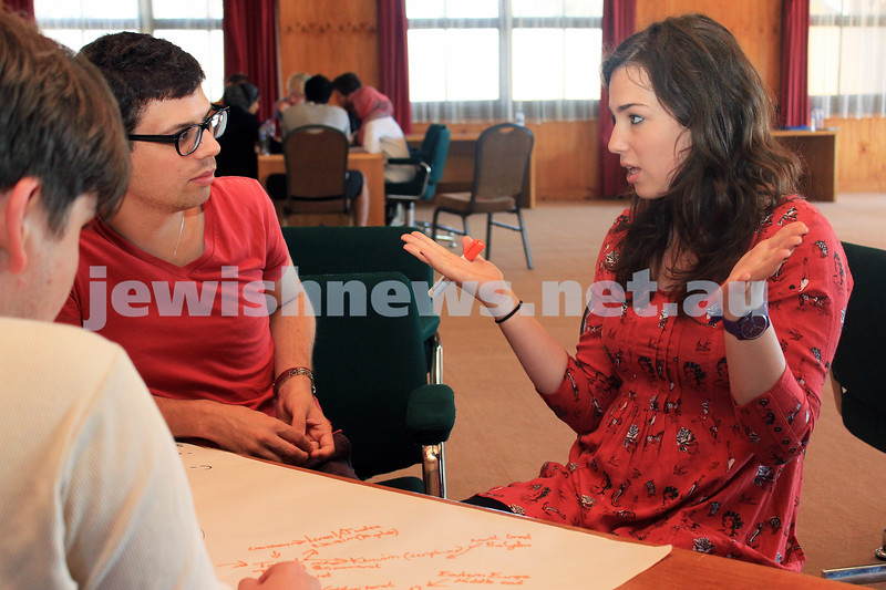 14-2-2012. Multifaith Future Leader's Program ran under the auspices of the B'nai B'rith Anti-Defamation Commission (ADC) and the Victorian state government. Photo: Lochlan Tangas