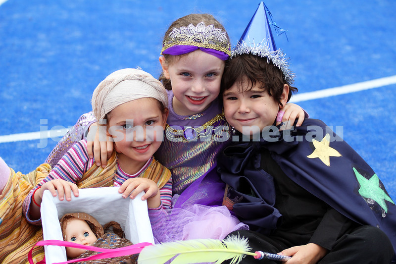 Purim 2011. Sholem Aleichem College. Photo: Peter Haskin