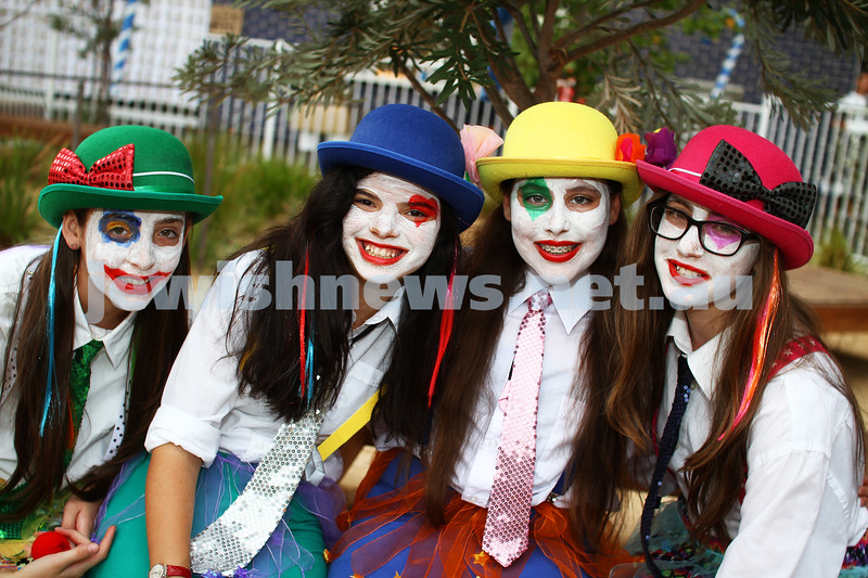 Leibler Yavneh College. Purim 2013. Photo: Peter Haskin