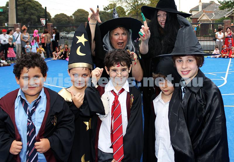 22-2-2013. Purim @ Sholem Primary. Photo: Lochlan Tangas