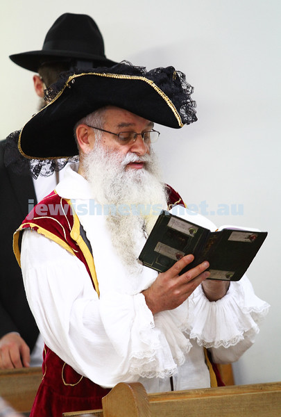 Yeshivah College. Purim 2013.  photo: peter haskin