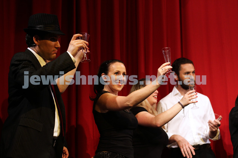 "Purim Speil, February 2013. ""Under Pupik - 50 Shades of Chrain"". Photo: Peter Haskin"
