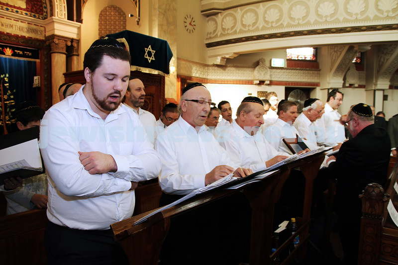 14-8-11. Induction of Rabbi Yaakov Glasman as Chief Minister of St Kilda Hebew Congregation. Photo: Peter Haskin
