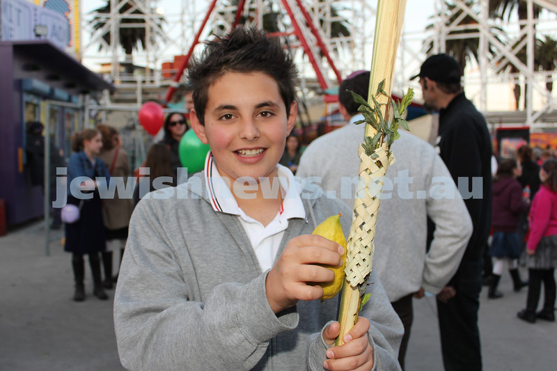 17-10-11. Sukkot at Luna Park. Adi Rapoport. Photo: Lochlan Tangas