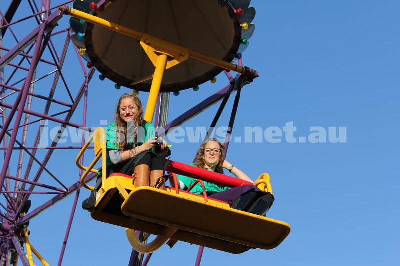 17-10-11. Sukkot at Luna Park. Photo: Lochlan Tangas