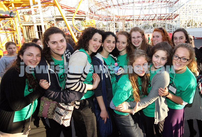 17-10-11. Sukkot at Luna Park. Chabad Youth. Photo: Lochlan Tangas