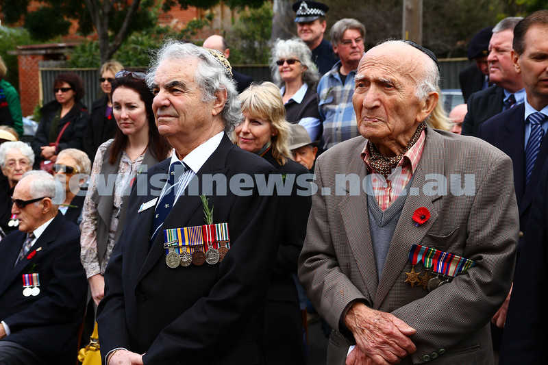 10-11-13. Rememberence Day 2013. VAJEX sevice at Caulfield RSL. Photo: Peter Haskin