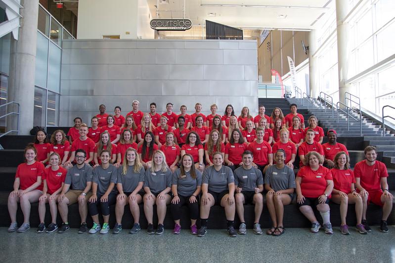 Camp Recky Staff Photos
