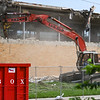 The site of the Logansport Municipal Utilities water treatment plant is seen as demolition on the facility continues on Thursday, July 29, 2021.