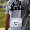 The bibs for the 9/11 remembrance 5K run and dog walk event feature names of someone who died responding to the attacks at Huston Park in Logansport on Saturday, Sept. 11, 2021.