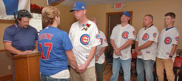 Cubs wedding