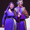 """Actors with the Junior Civic Theater rehearse a scene from """"Joseph and the Amazing Technicolor Dreamcoat"""" at the McHale Performing Arts Cetner in Logansport on Tuesday, July 20, 2021."""