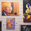 Pieces from the Logansport Art Association's Myanmar exhibit are shown at 424 Front St. in Logansport on Thursday, Sept. 23, 2021.