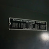 The metal label of the voting machine as seen at the Cass County 4-H Farigrounds in Logansport on Friday, Aug. 20, 2021.