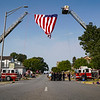 People line the streets during the homecoming procession for Marine Corps Cpl. Humberto Sanchez in Logansport on Sunday, Sept. 12, 2021.