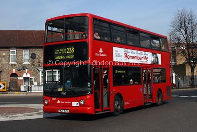 East London (Double Deckers)