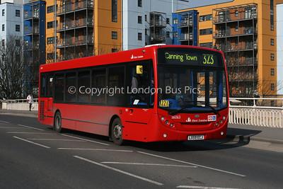 East London (Single Deckers)