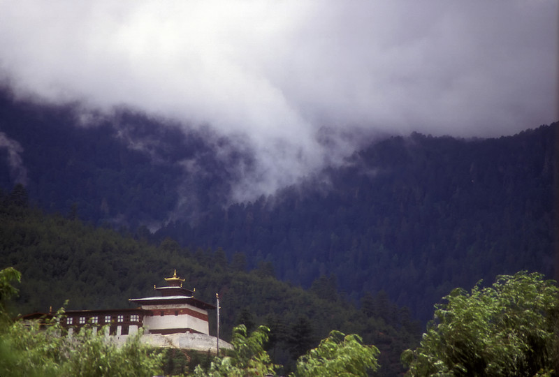 The Trongsa dzong is the heart of the nation. All kings do a stint here as governor before accession to the throne.