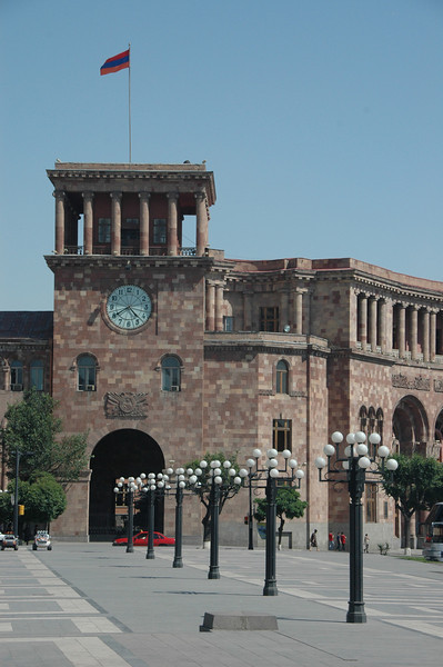 Republic Square, Yerevan, Armenia.