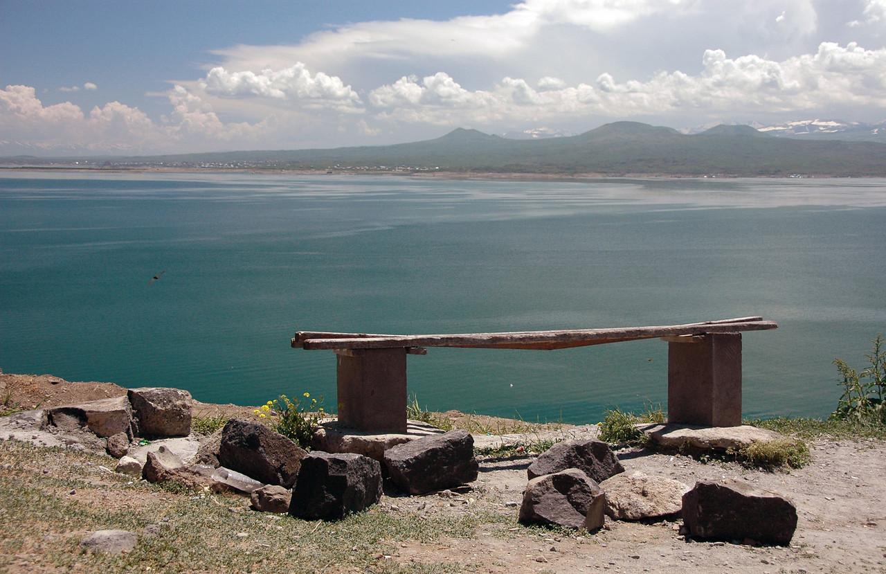 Lake Sevan, at 1900 meters (6200 feet), it's the world's highest alpine lake.