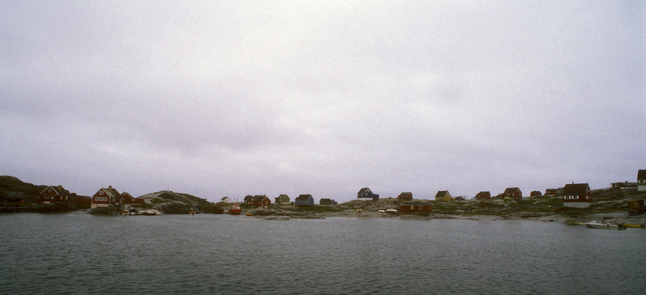 The settlement at Rodebay, Greenland.