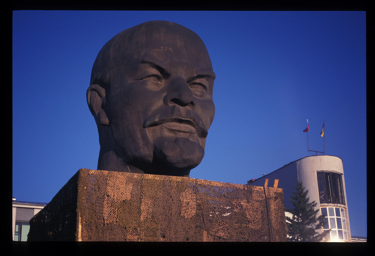 You can't go to Ulan Ude and not take a few too many photos of the Lenin head.