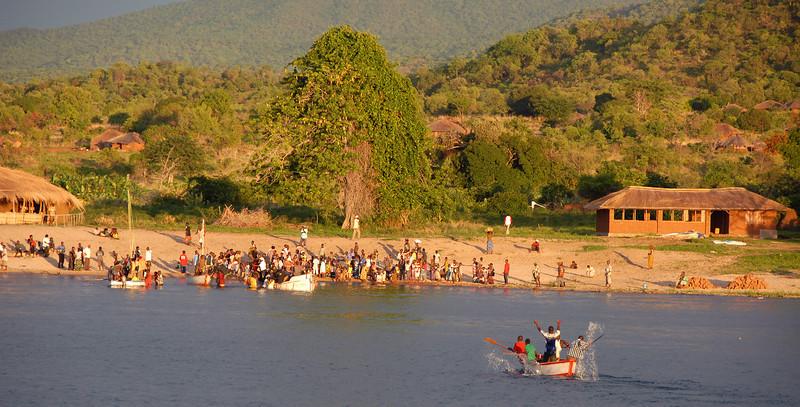 Cobue village.