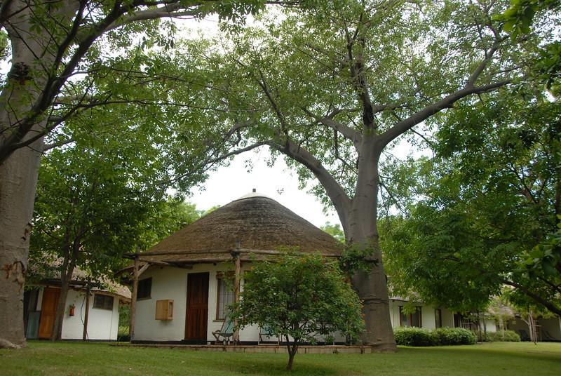 Accommodation at Club Makokola near Monkey Bay, Malawi.