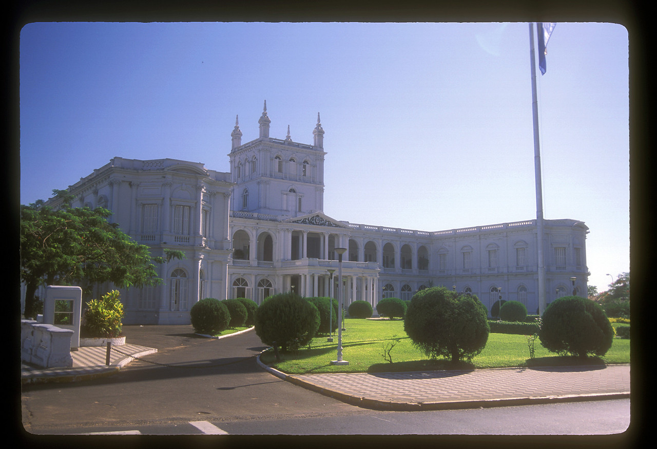 The Presidential Palace, Asuncion.