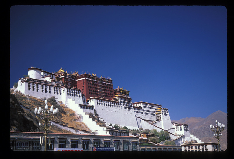 And finally, in Lhasa, the Potala, home of the Dalai Lama until his 1959 flight to India.