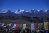Back out on the road though, it was gorgeous. Prayer flags at Lalung Leh pass, 5050 meters (16570 feet).