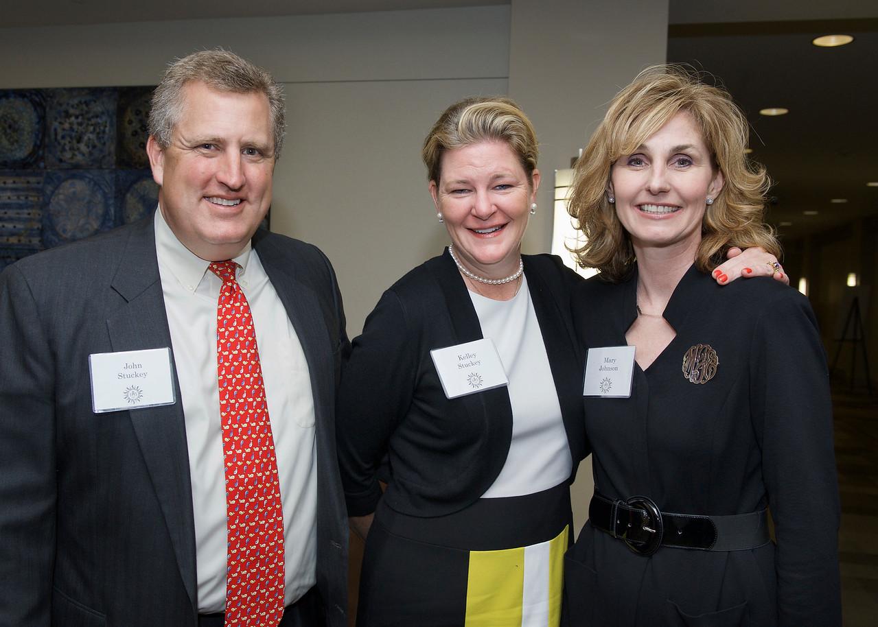 John Stuckey, Kelley Stuckey with Mary Johnson (Jesuit Partnership Council of Omaha)
