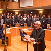 GC36 election of Fr. Arturo Sosa, of Venezuela, as Superior General of the Society of Jesus in the Aula by the Jesuits gathered from around the world. Photo by Don Doll, SJ