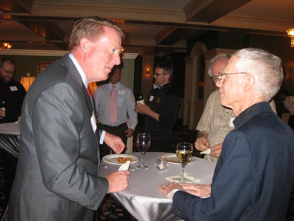 James Quinlan and Charlie Baumann, SJ