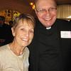 Mary Reardon and Fr. Jim Kubicki, SJ