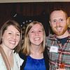 Sarah Quinn (Former Faculty Member TC Cristo Rey), Jenna Lowdnes (Jesuit Partnership Council-Twin Cities and Creighton University Alum) and Andrew McIlree (FJV)