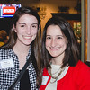 Kate Nowakowki (FJV) and Sarah Kirschbaum (2nd Year JVC)