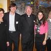 St. Francis Mission Staff (L-R):  Sandra McNeely (Vice President), Michael O'Sullivan (Stewardship Officer), Fr. John Hatcher SJ (Director), Davanne O'Sullivan (Stewardship Officer) and Cindy Swanston (Office Manager)