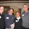 Fr. Daniel Hendrickson SJ (President-Elect of Creighton University), Mark & Mary Madigan and Greg Kliebhan (Jesuit Partnership Council of Milwaukee)