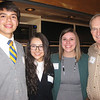 Cristo Rey Jesuit High School students with Kimberly Van Beek and Richard Reinbold