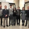 Matt Miller, Andrew Stith, Cristo Rey Jesuit High School Students (Ricardo & Ana), Thomas Bambrick SJ, Kimberly Van Beek and Neal Gutierrez