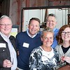 David Krill (Jesuit Partnership Council of Milwaukee), Mark Madigan, Mary Madigan, Greg Kliebhan (Jesuit Partnership Council of Milwaukee) and Linda Kliebhan
