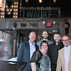 Joe Sweeney (Midwest Jesuits - Regional Director, Chicago), Monika Sobierajski (Midwest Jesuits - Planned Giving Coordinator), Brian Harper (Midwest Jesuits - Communications Specialist, Joe Simmons, SJ (Guest Speaker), and Dan O'Brien (Midwest Jesuits - Regional Director, Milwaukee/Omaha)