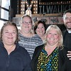 Kathleen Giebel-Puck, Jeanne Simmons, Mary Simmons Radke, Carol Chilson and Joe Simmons, SJ